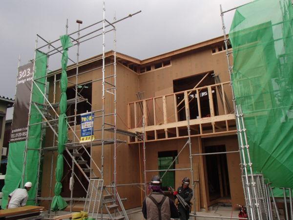 2階の床部分は、すべてのお宅で剛床構造を採用