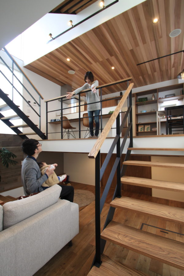 SKIP FLOOR HOUSE (ZEH仕様)
