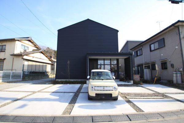 HOUSE IN DRESSED IN BLACK ARMOR