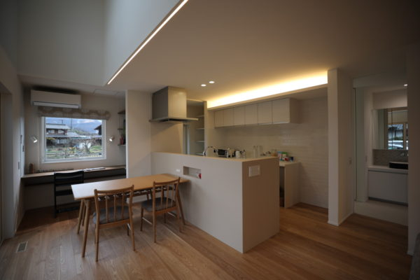 Solar shading house