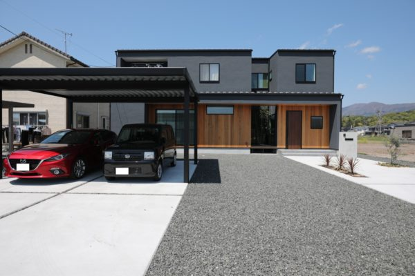 Black tree house