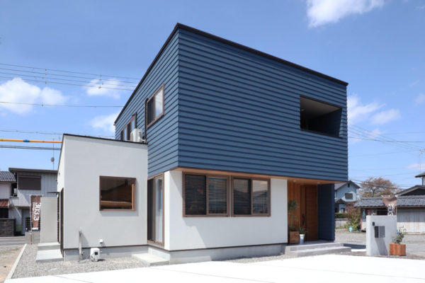 Wood Blue House